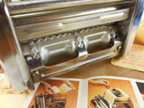 OMC Marcato Atlas Himark Pasta Maker Machine - Raviolissima Ravioli Attachment Part Box & Instructions drive view