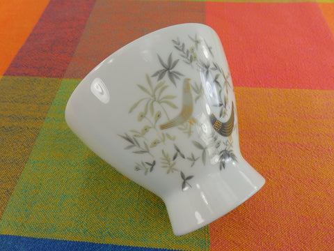 Rosenthal Germany - 1960s Raymond Loewy - Birds On Trees - Open Sugar Bowl