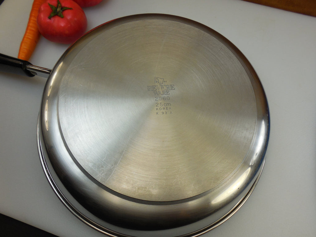 Revere Ware Tri Ply 1993 Korea 10 Quot Fry Pan Skillet Thick