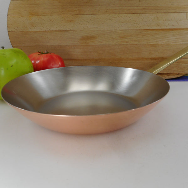 "Paul Revere Ware Signature Limited Edition - Copper Stainless Brass 8.5"" Fry Pan Skillet"