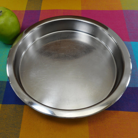 "Revere Ware 1988 Stainless Steel 9"" Cake Pan 2509"
