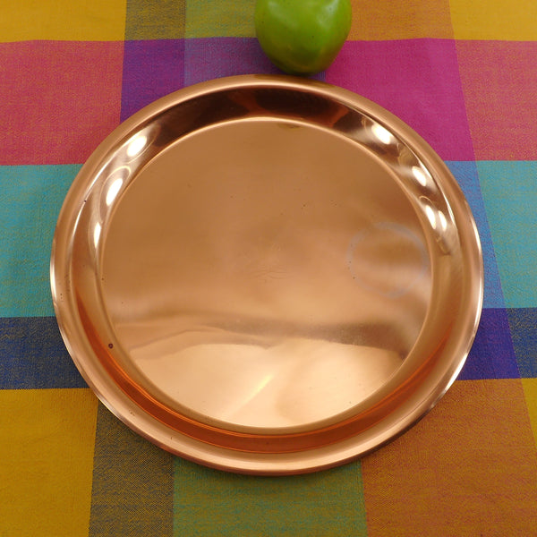 "Paul Revere Ware Limited Edition 12"" Solid Copper Serving Tray"