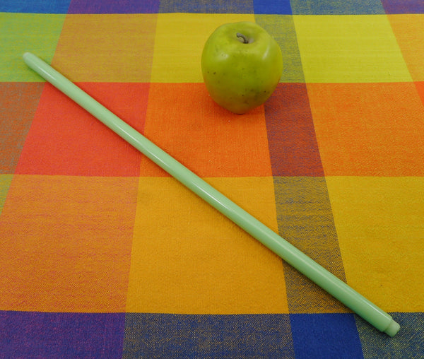 Glass Towel Bar Rack Rod - Replacement Vintage Jadeite Green 18""