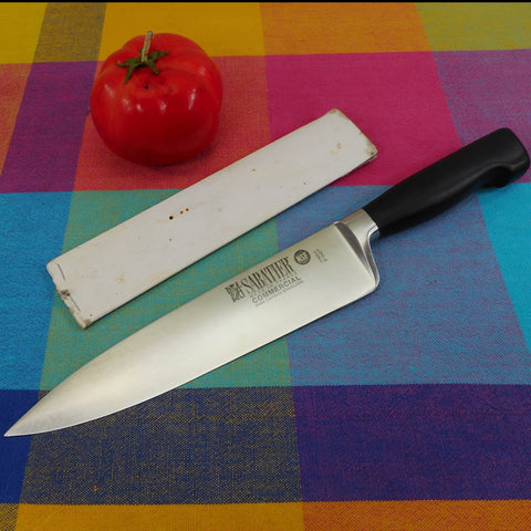 "Maison Sabatier France Commercial NSF 8"" Stainless Chef Knife - KitchenAid 50 Year 1999 Promo"