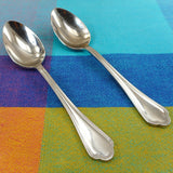 "Sambonet Filet Toiras Stainless Steel Teaspoons 5-5/8"" Used"