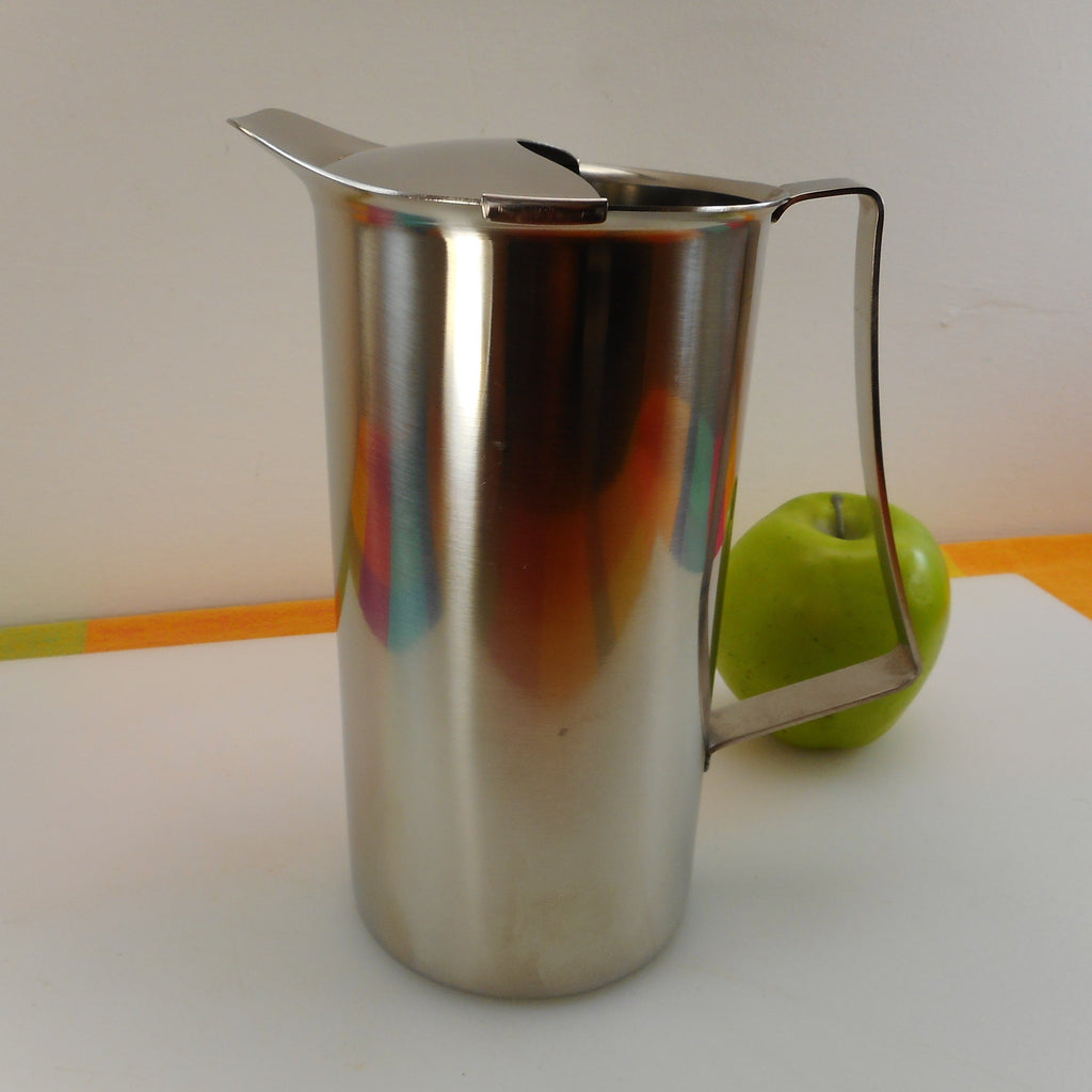 Selandia Denmark 18-8 Stainless Steel Pitcher 1-1/2 Quart - Danish Modern