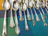 Vintage Mismatched Silverware Silverplate Set - Service for 8 - View 3