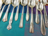 Vintage Mismatched Silverware Silverplate Set - Service for 8 - View 4