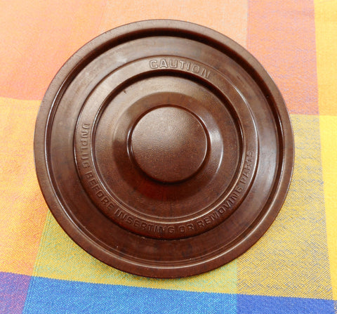Sunbeam Mixmaster Stand Mixer Vintage Part - Disc Turntable For Bowl - Brown