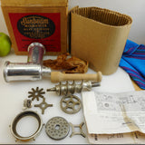Sunbeam Mixmaster Mixer Attachment FW6A Meat Grinder Food Chopper in Box