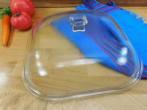 "Sunbeam 1950s Electric Skillet Replacement 10"" Glass Lid - Models FP-10A..."