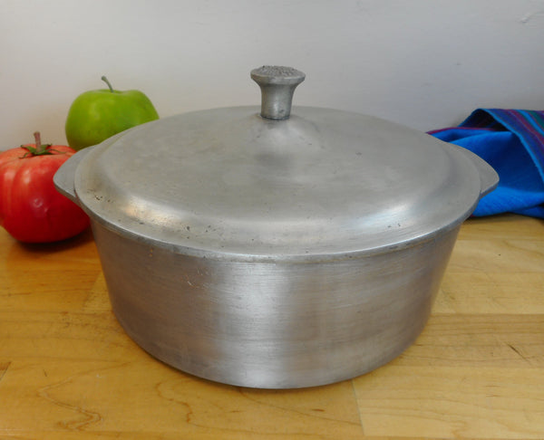 Genuine Super Health Canada - Cast Aluminum Dutch Oven Lidded Casserole
