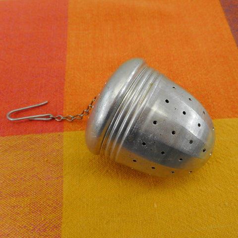 Acorn Shape Tea Infuser Strainer Ball Perforated Aluminum