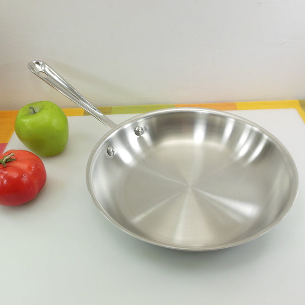 "All-Clad Metalcrafters USA 10"" Fry pan Skillet 3-ply Stainless"