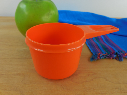 Orange Tupperware Measuring Cup... 2/3 Cup Replacement