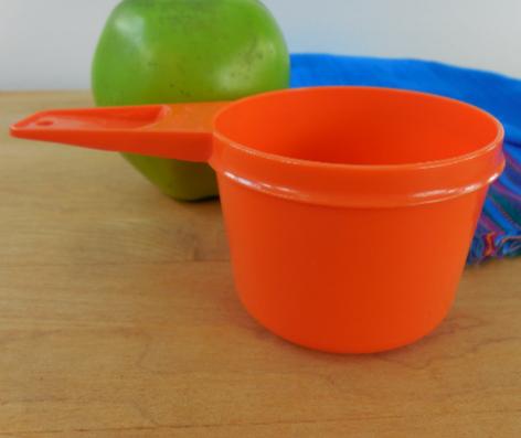 Orange Tupperware Measuring Cup... 3/4 Cup Replacement