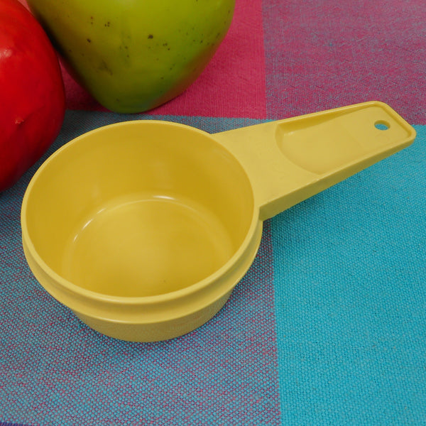 Tupperware Harvest Gold Measuring Cup - 1/3 Cup Replacement