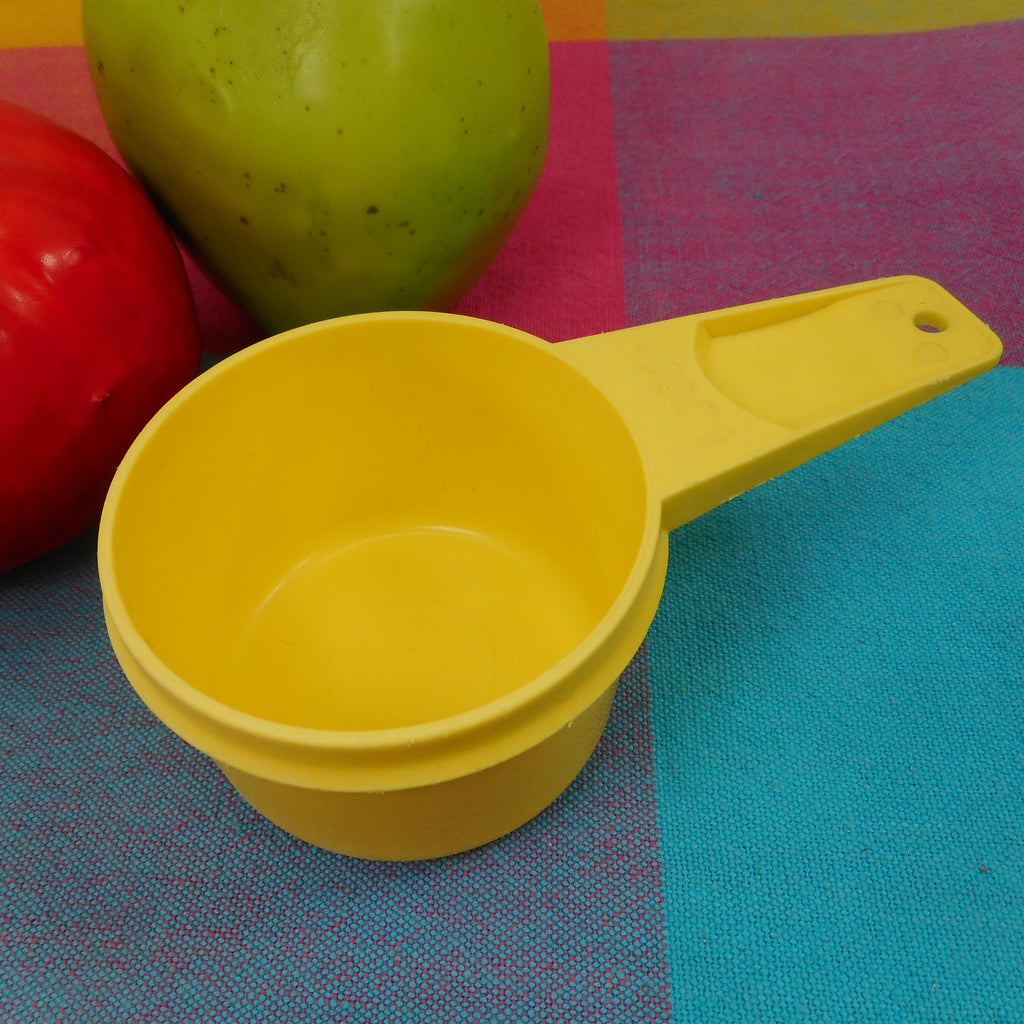 Tupperware Bright Yellow Measuring Cup - 1/2 Cup Replacement