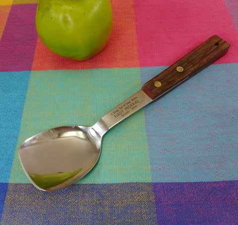 Vernco Japan Ice Cream Spoon Scoop - First Federal Sarsota/Venice Florida