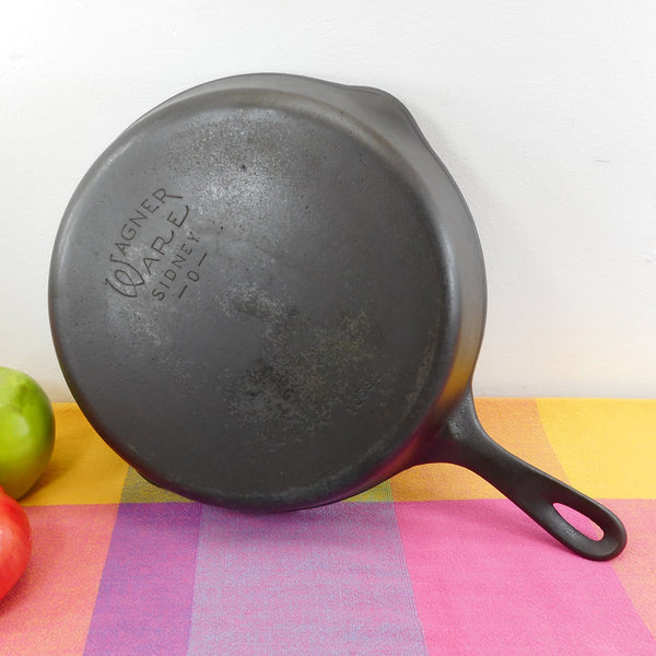 Wagner Ware #8 Cast Iron Skillet 1058 Restored