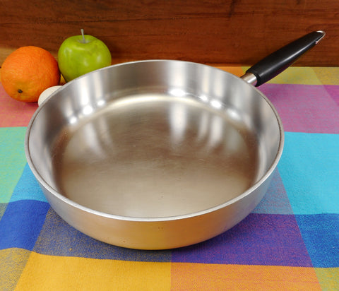 "Wear-Ever R-960 Inner-Clad Plus Stainless 10"" Skillet Pan - Vintage 1960s"