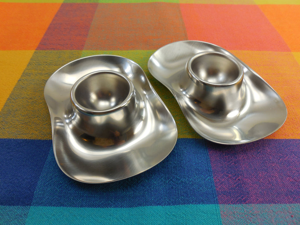 Sold Wmf Cromargan Pair Stainless Steel Egg Cups