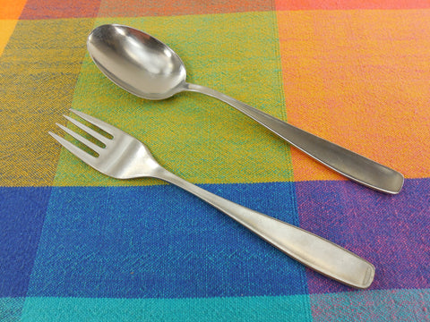 WMF Cromargan Germany - Line Stainless Flatware... Place Soup & Salad Fork