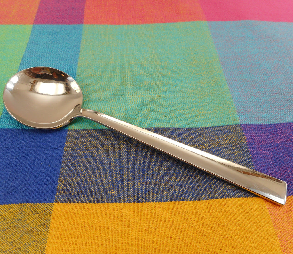 WMF Cromargan Stainless Combination Ole Palsby Round Soup Spoon 7-3/4""