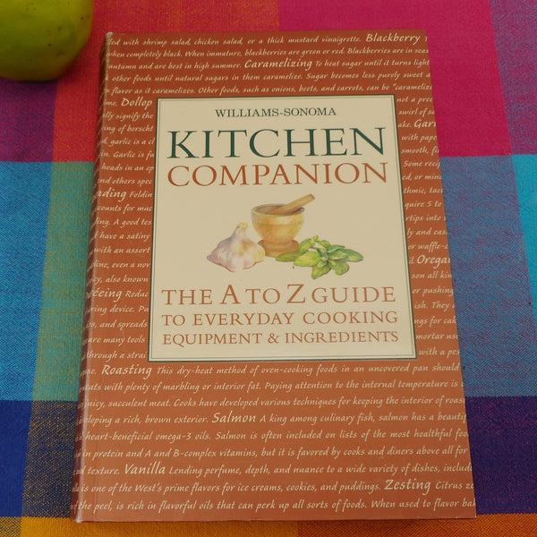 Williams Sonoma Kitchen Companion Book - Guide To Everyday Cooking Equipment and Ingredients