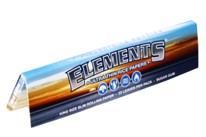 Elements - Ultra Thin Rice Papers King Size