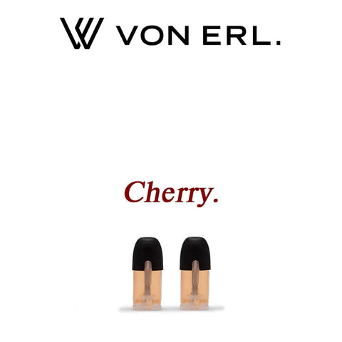 Von Erl - Cherry E liquid Pod - Cloudy Rooms