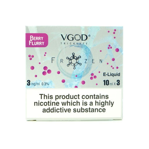 VGOD E Liquid - Berry Flurry - 3 x 10ml Pack