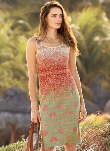 Lotus Garden Pima Dress
