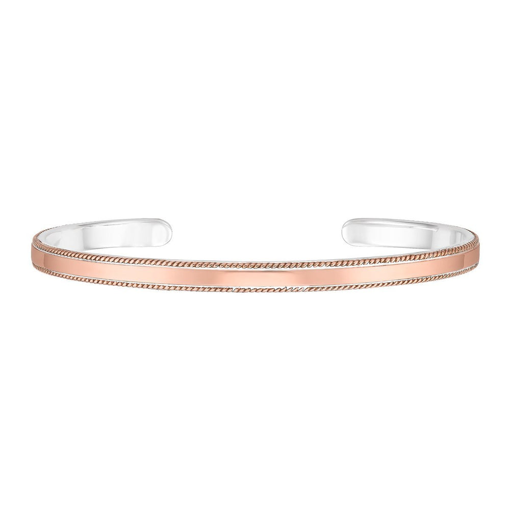 Anna Beck Rose Gold Smooth Cuff Bracelet - Verbena Sky , Women - Jewelry - Bracelets - Verbena Sky, [Verbena Sky Boutique]