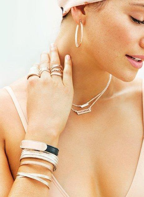 Anna Beck Women - Jewelry - Bracelets ANNA BECK Smooth Skinny Cuff Bracelet - Rose Gold Anna Beck