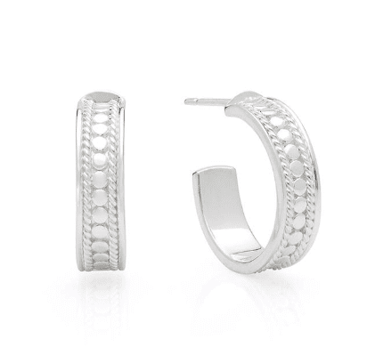 Anna Beck Earrings - Small Hoops - Sterling Silver