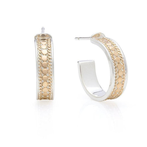 Anna Beck Small Hoop Earrings - Gold - Small Hoops - Gold Vermeil - Verbena Sky Boutique