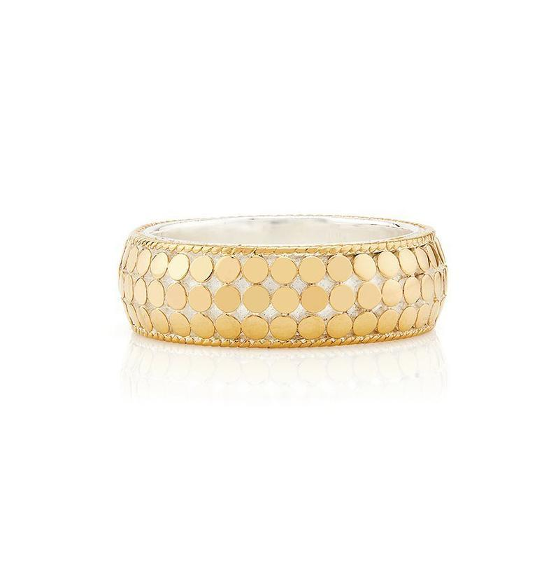 Anna Beck Limited Edition Dome Ring - Gold - Verbena Sky , Women - Jewelry - Rings - Verbena Sky, [Verbena Sky Boutique]