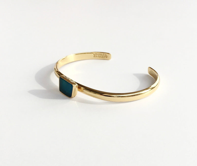 Charles Albert Women - Jewelry - Cuffs Sea Glass Mini Cuff Bracelet Charles Albert