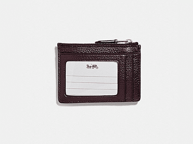 Coach Women - Accessories - Wallets Mini Skinny ID Case - Oxblood Coach