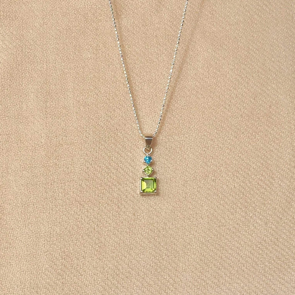 Greta Jones Jewelry Women - Jewelry - Necklaces 18 inch chain Aya Peridot Necklace Greta Jones Jewelry