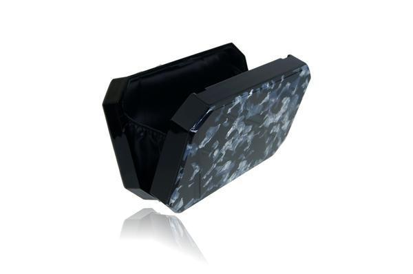 Milanblocks Women - Bags - Clutches & Evening Black Marble Box Clutch Milanblocks