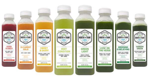 The Fountain of Juice | 100% Raw Cold-Pressed Juice