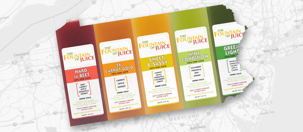 The Fountain of Juice Locally Grown Produce from Pennsylvania Dutch Country