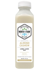The Fountain of Juice Almond Cashew Milk | Dairy Free, Soy Free, All Natural, No-HPP, Vegan, Gluten-Free