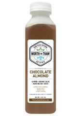 The Fountain of Juice Chocolate Almond Nut Milk | Dairy Free, Soy Free, All Natural, No-HPP, Vegan, Gluten-Free
