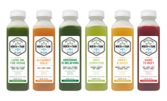 The Fountain of Juice 1-Day Classic Raw Juice Cleanse | All Natural, Cold-Pressed, No-HPP, Vegan, Gluten-Free