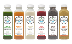 The Fountain of Juice 1-Day Combination Juice & Soup Cleanse | All Natural, Cold-Pressed, No-HPP, Vegan, Gluten-Free