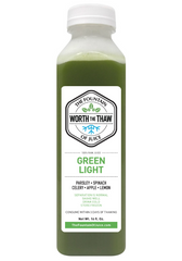 The Fountain of Juice Green Light 100% Raw Juice | All Natural, Cold-Pressed, No-HPP, Vegan, Gluten-Free