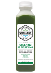 The Fountain of Juice Greening Is Believing 100% Raw Juice | All Natural, Cold-Pressed, No-HPP, Vegan, Gluten-Free
